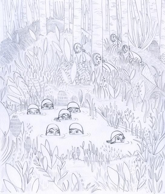 HunterandtheHuntedSketch